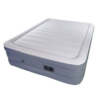 "Stansport Air Bed - Double High, Built In Pump 80"" X 62"" X 18.5"" High"