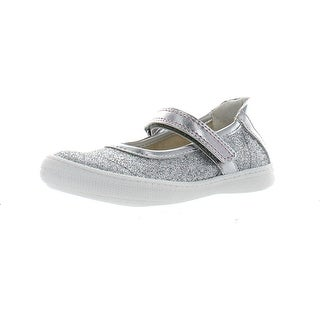 Primigi Girls Steffy Fashion Glitter Casual Flats Shoes - Silver