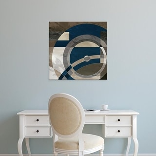 Easy Art Prints James Burghardt's 'Concentric Squares II' Premium Canvas Art