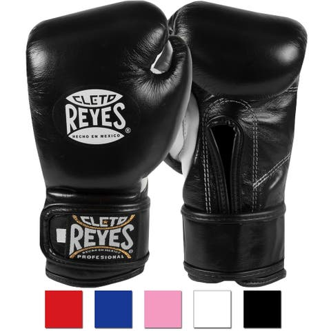 Cleto Reyes Youth Hook and Loop Boxing Gloves - 6 oz.