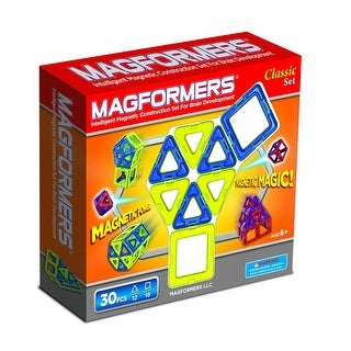 Magformers Classic Magnetic 30 Piece Set - Multi