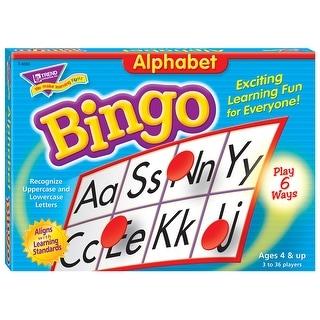 (3 Ea) Bingo Alphabet Ages 4 & Up