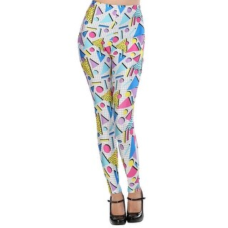 Adult 80s Party Girl Leggings
