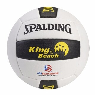 Spalding King Of The Beach Replica Tour Volleyball - White