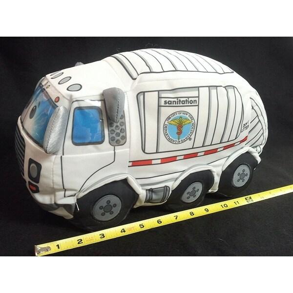 Bronx Toys DSNY Sanitation Truck Plush Toy