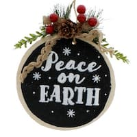Peace on Earth Log