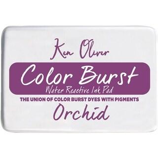 """Ken Oliver Color Burst 3.75""""X2.5"""" Stamp Pad-Orchid"""