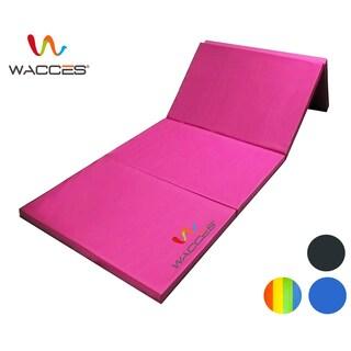 Wacces Pu Leather Gymnastics Tumbling/Martial Arts Folding Mat
