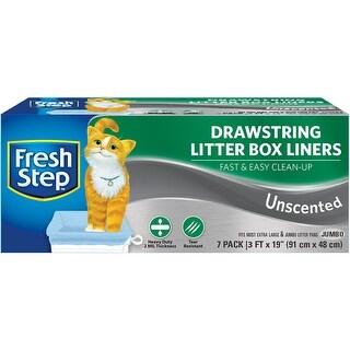Fresh Step Drawstring Litter Box Liners Large