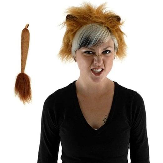 Lion Headband Costume Kit - Brown