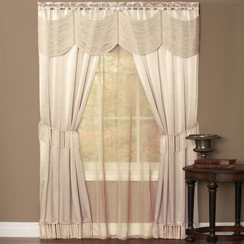Achim Halley 6 Piece Window Curtain Set