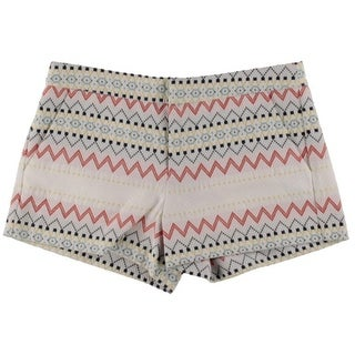 Parker Womens Embroidered Pattern Casual Shorts - 4