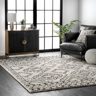 Link to nuLOOM Lacey Moroccan Geometric Soft Shag Area Rug Similar Items in Cookware