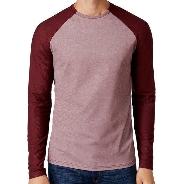 56883591b Shop Vince Camuto NEW Burgundy Red Mens 2XL Mesh Baseball Tee Crewneck Shirt  - Free Shipping On Orders Over  45 - Overstock.com - 18307836