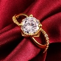 Classic Gold Paris Inspired Ring - Thumbnail 3