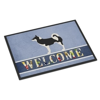 Carolines Treasures BB8338MAT Greenland Dog Welcome Indoor or Outdoor Mat - 18 x 27 in.