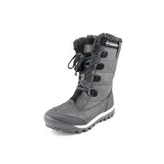Bearpaw Desdemona Round Toe Leather Snow Boot