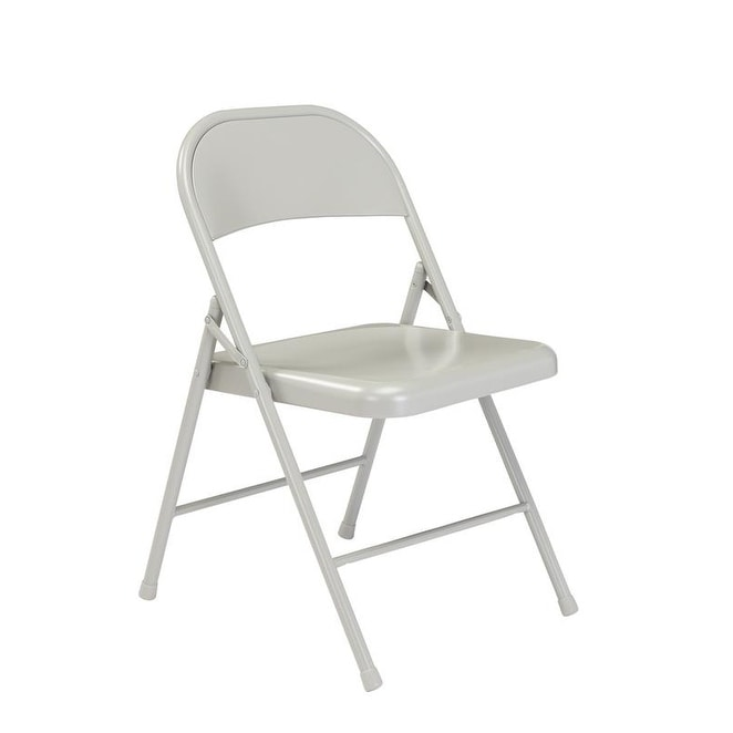 Thumbnail 5, (4 Pack) Commercialine All Steel Folding Chair. Changes active main hero.