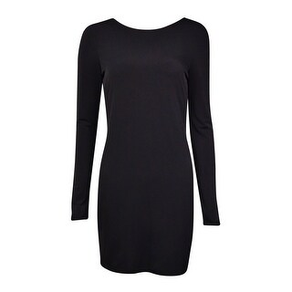 BCBGeneration Women's Cowl-Neck Long Sleeves Jersey Dress