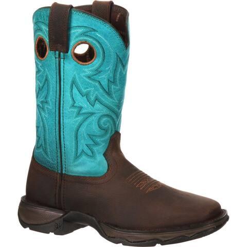 Lady Rebel by Durango® Women's Bar None Steel Toe Western Boot, #DWRD022