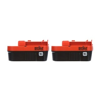 Battery for Black & Decker HPB18OPE (2-Pack) Replacement Battery