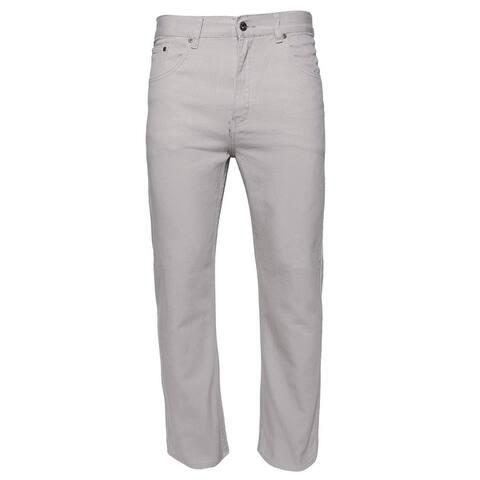 Mens Denim Jeans Pants Premium Cotton Straight Leg Regular Fit CA999