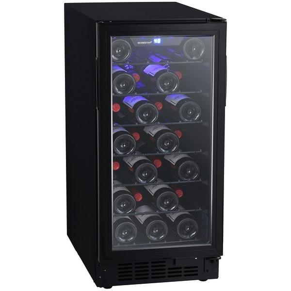 shop edgestar bwr301bl 15in wide 30 bottle built in single zone wine cooler with reversible door. Black Bedroom Furniture Sets. Home Design Ideas
