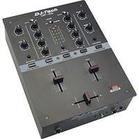 DJX DIF2SBLACK Battle Scratch Mixer, Black
