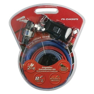 Link to Audiopipe Complete 8 Gauge Amp kit with Line Out Converter Similar Items in Car Audio & Video