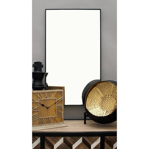 Porch & Den Merrie Lynn MDF Contemporary Wall Mirror