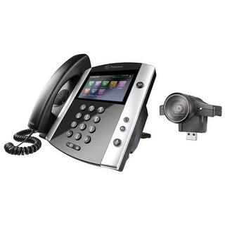 """Polycom VVX 600 VVX 600 Business Media Phone with AC Power Supply"""