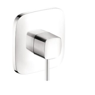 Hansgrohe 15407 PuraVida Pressure Balanced Valve Trim - Less Valve (Option: White Finish)