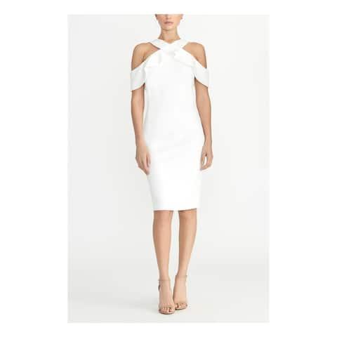 RACHEL ROY White Sleeveless Midi Dress XS