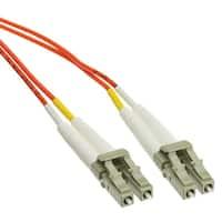 Offex Plenum Fiber Optic Cable, LC / LC, Multimode, Duplex, 62.5/125, 30 meter (98.4 foot)