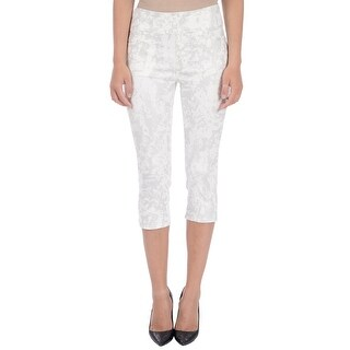 Lola Jeans Erica-MT, High-rise Pull On capris