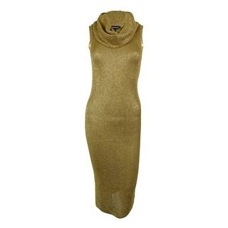 INC International Concepts Women's Cowl Neck Sweater Dress