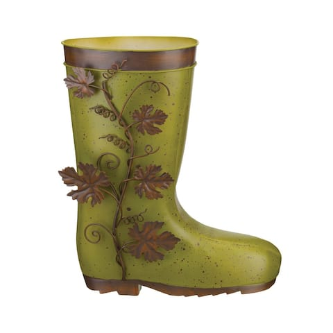 Boot Planter - Leaves
