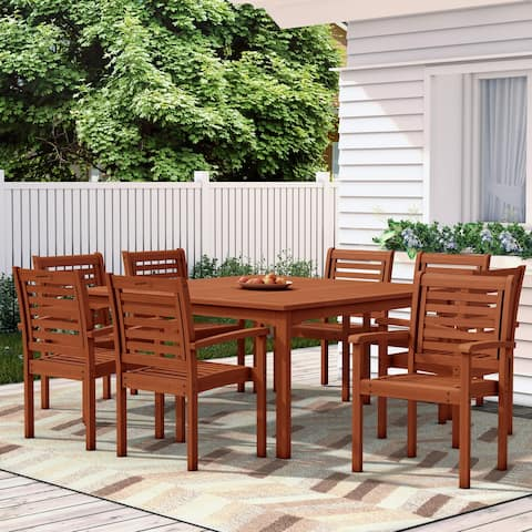 Tottenville Patio 9-piece Patio Dining Set by Havenside Home