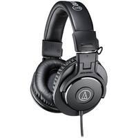 Audio-Technica Professional Studio Monitor Headphones, Black