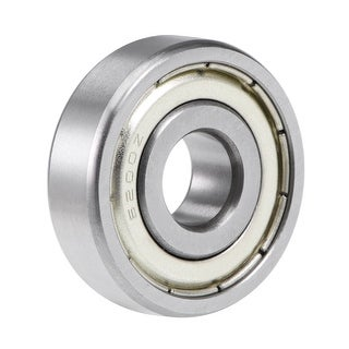 6200ZZ Deep Groove Ball Bearing 10mmx30mmx9mm Double Sealed Chrome Bearings - 1 Pack - 6200ZZ (10*30*9)