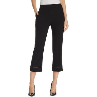 Elie Tahari Womens Harper Dress Pants Eyelet Faux Pockets (2 options available)