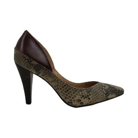 Corso Como Womens theresa Snakeskin Pointed Toe Classic Pumps - 6.5