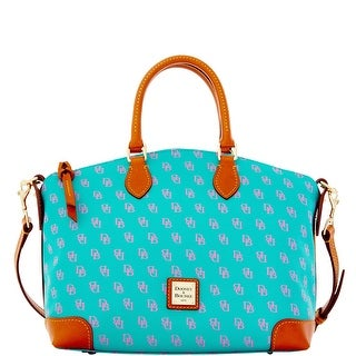Dooney & Bourke Gretta Satchel (Introduced by Dooney & Bourke at $228 in Nov 2015) - spearmint lavender
