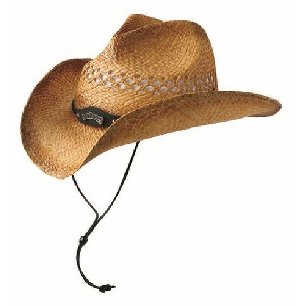 Shop Jack Daniels Men s Soft Raffia Straw Cowboy Hat - Natural Toast Color  JD03-59 - Free Shipping Today - Overstock - 17773305 789609dcd570