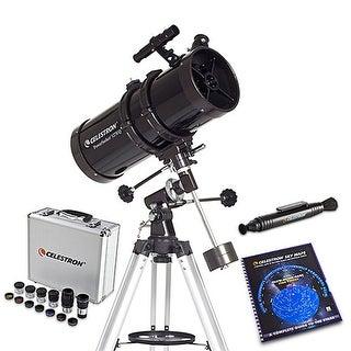 Celestron Powerseeker Black 80azs Telescope Free Shipping Today Overstock Com 17231532