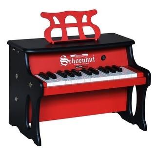 Schoenhut 25 Key 2 Toned Table Top Red / Black
