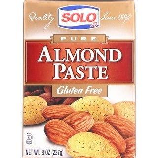 Solo - Almond Paste ( 3 - 8 OZ)
