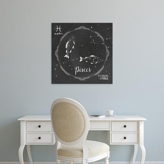 Easy Art Prints Sara Zieve Miller's 'Night Sky Pisces' Premium Canvas Art