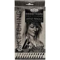 Sketching Pencils 12/Pkg-