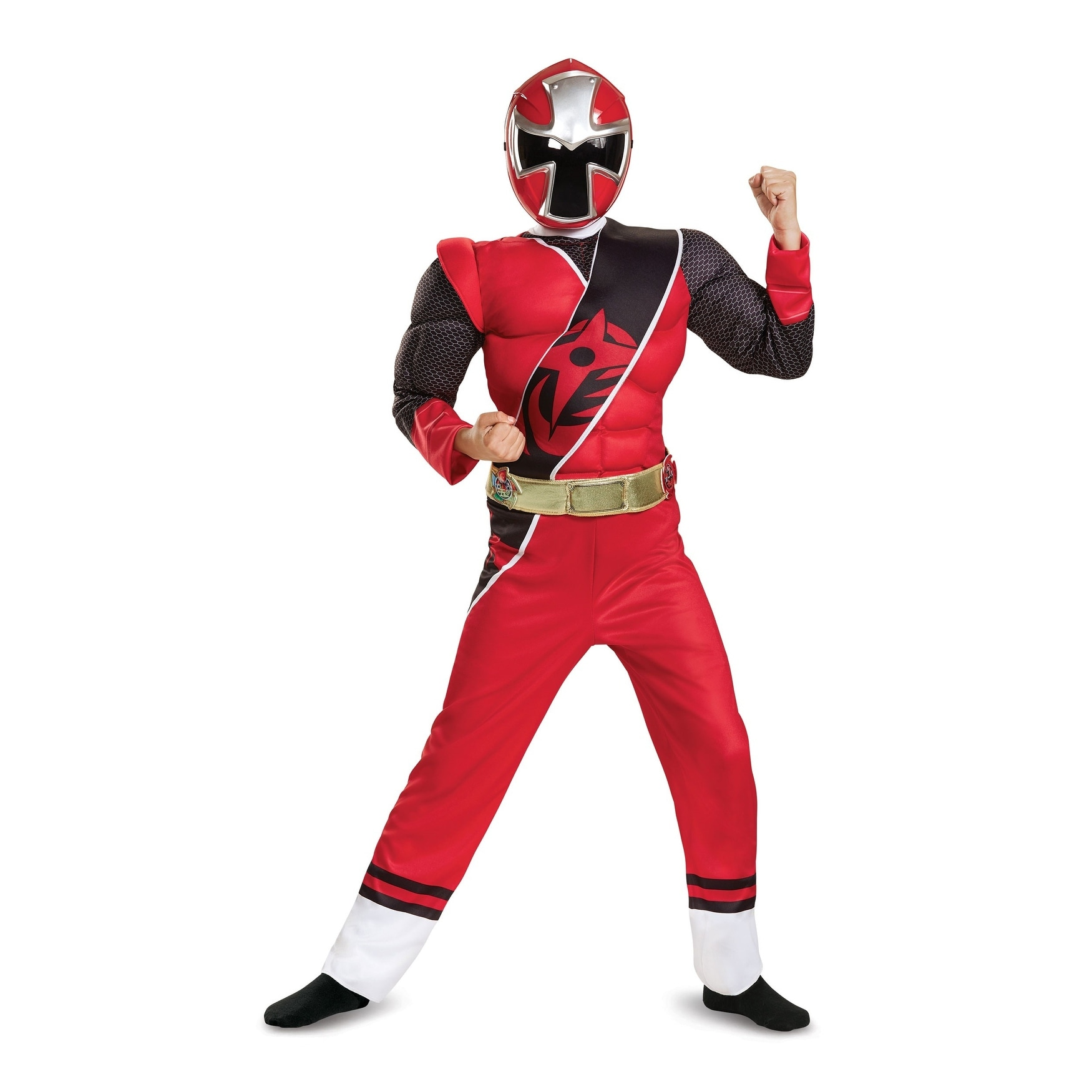 2017 Red Power Ranger Classic Child Costume